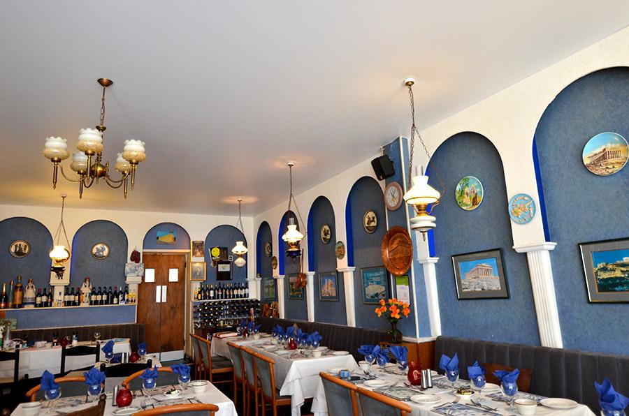 Athens restaurant installation