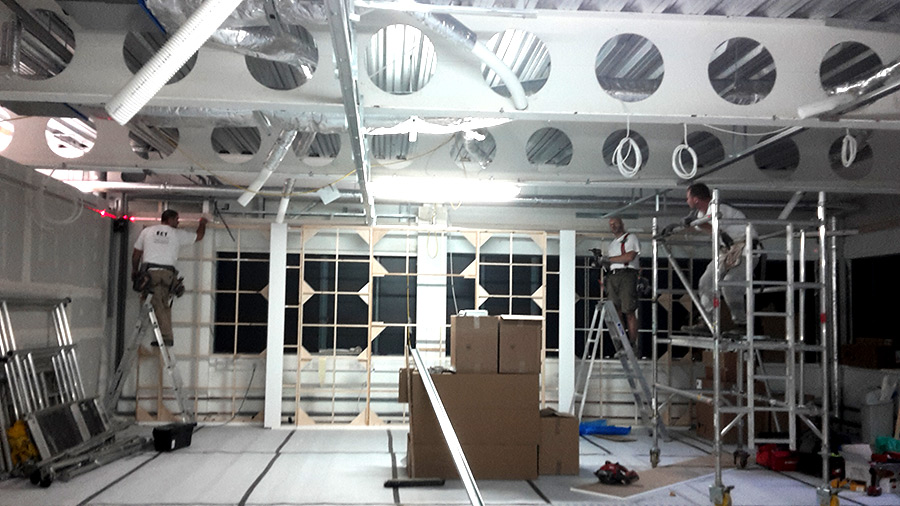 showroom ceilings