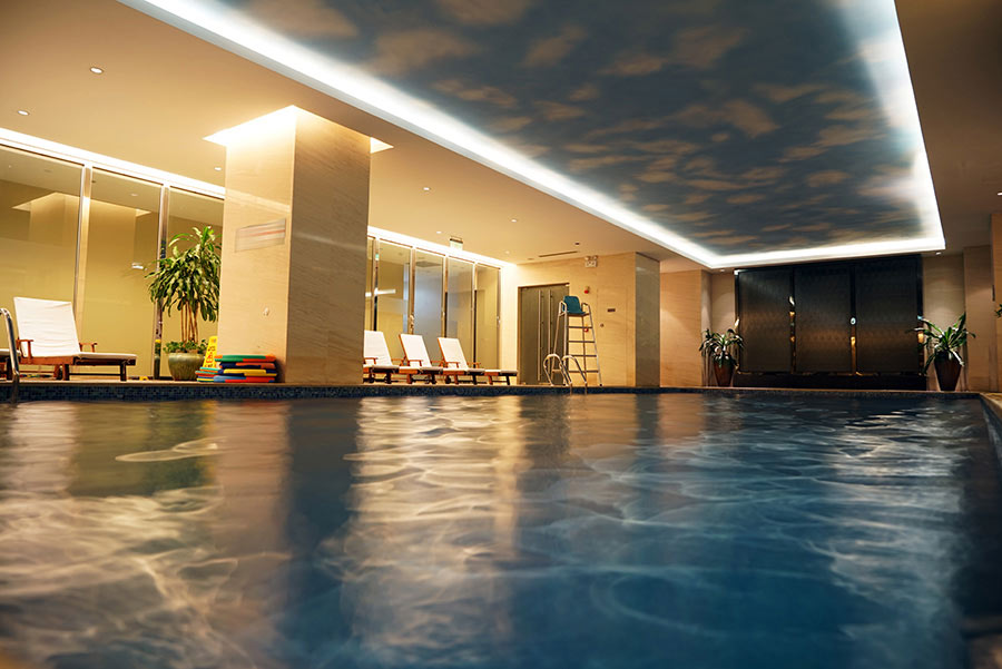 Swimming Pool Ceilings